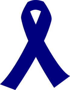 231x297 Dark Blue Cancer Ribbon Clip Art
