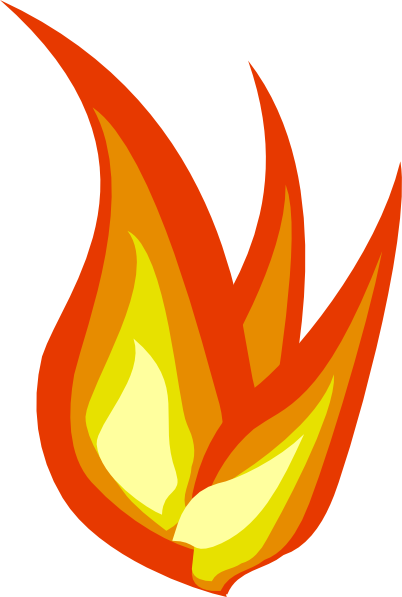 402x597 Melting Candle Clipart Flame Clip Art