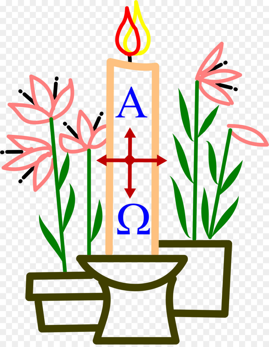 900x1160 Paschal Candle Birthday Cake Easter Clip Art