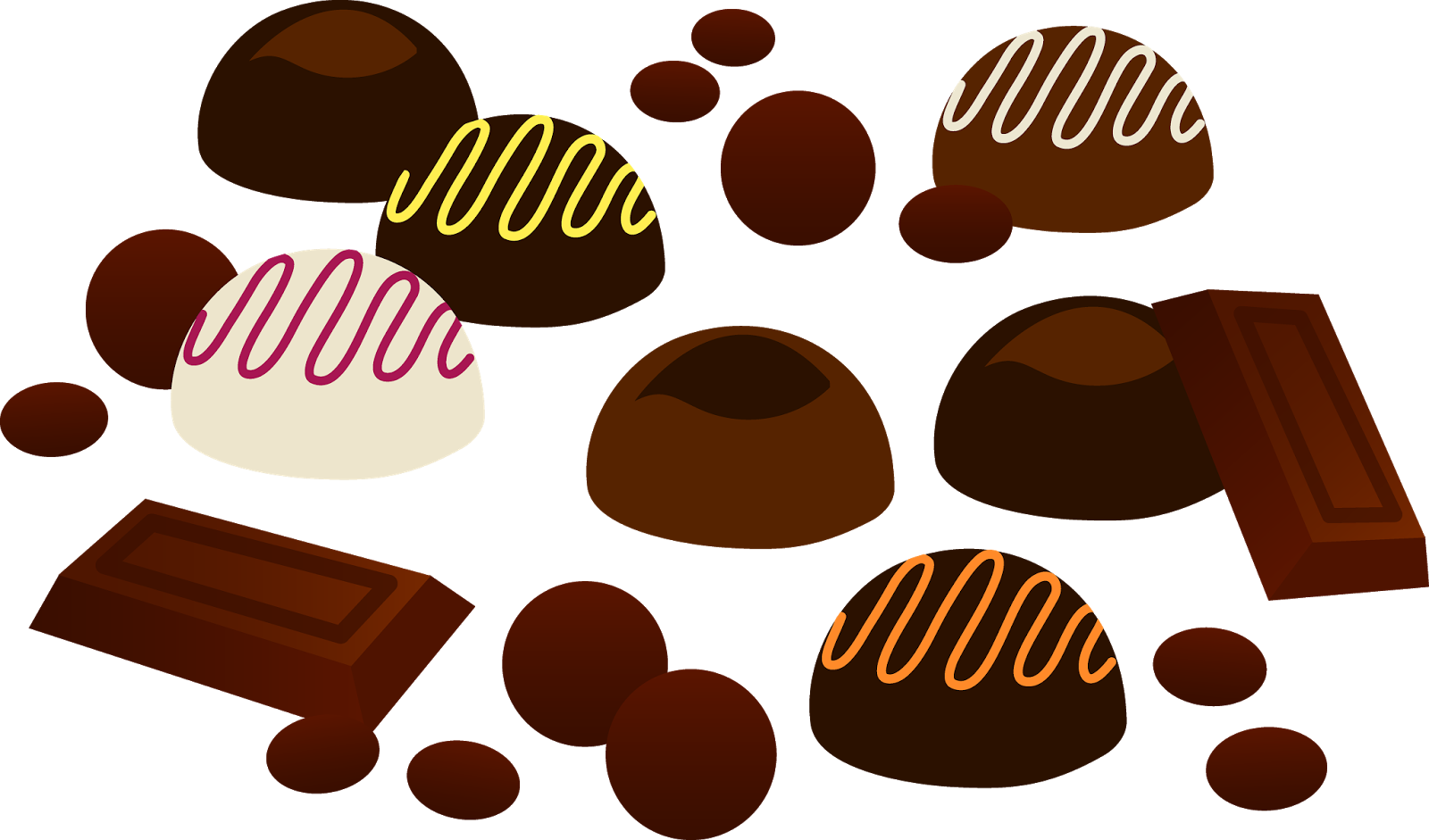 1600x941 Chocolate Clip Art Images Black And White