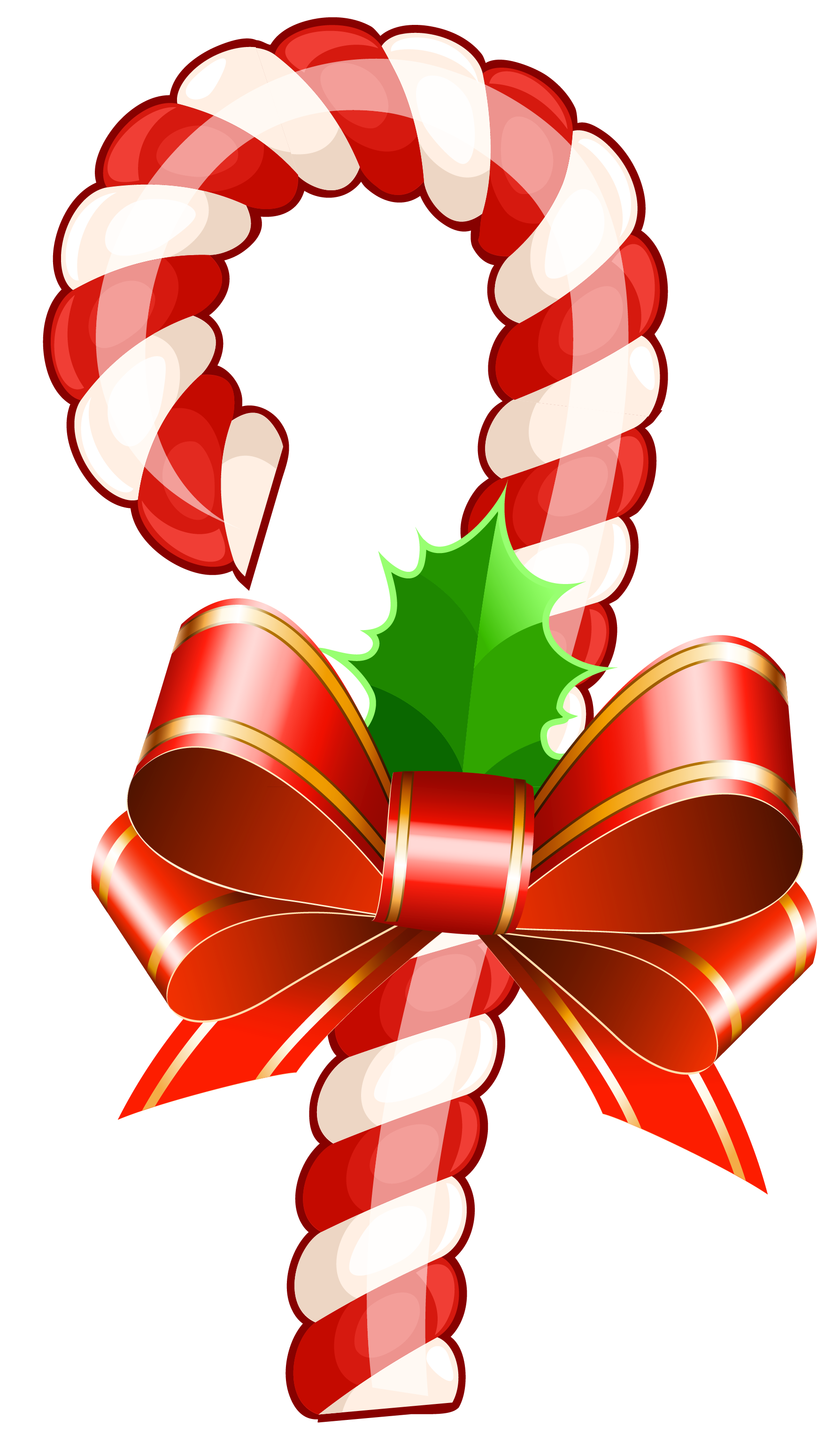 1789x3069 Collection Of Candy Cane Christmas Tree Clipart High Quality