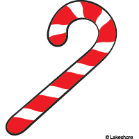 200x200 Free Candy Cane Clip Art Pictures