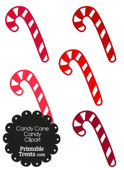 400x550 Red And White Candy Cane Clipart Printable
