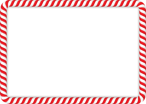 492x350 Candy Cane Clipart Border Candy Cane Clipart Frame 13