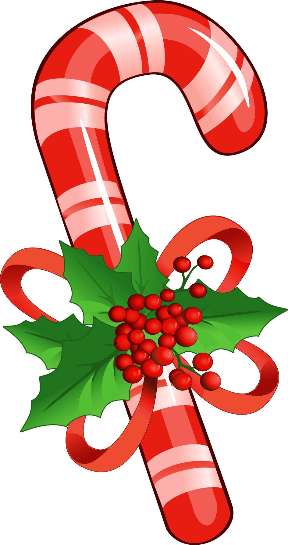 945x1788 Candy Cane With Mistletoe Png Clipartu200b Gallery Yopriceville