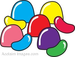 300x228 Clip Art Cartoon Of Gumdrops And Jellybeans