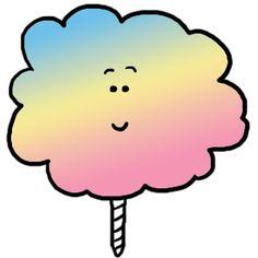 236x236 Cotton Candy Clipart Clip Art Illustration Image Picture Cartoon