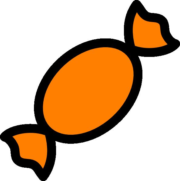 594x598 Orange Candy Clip Art