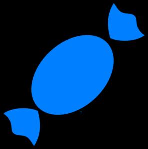 297x299 Blue Candy Clip Art
