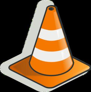 293x297 Construction Cone Clip Art