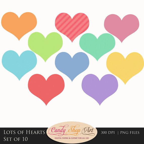 570x570 Lots Of Hearts Clip Art, Clipart Panda