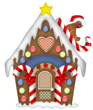Candy House Clipart