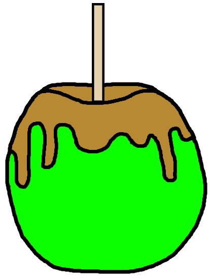 414x551 Candy Apple Clip Art Apple Clipart Animations