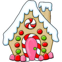 236x236 Gingerbread House Clipart Gingerbread House Clip Art