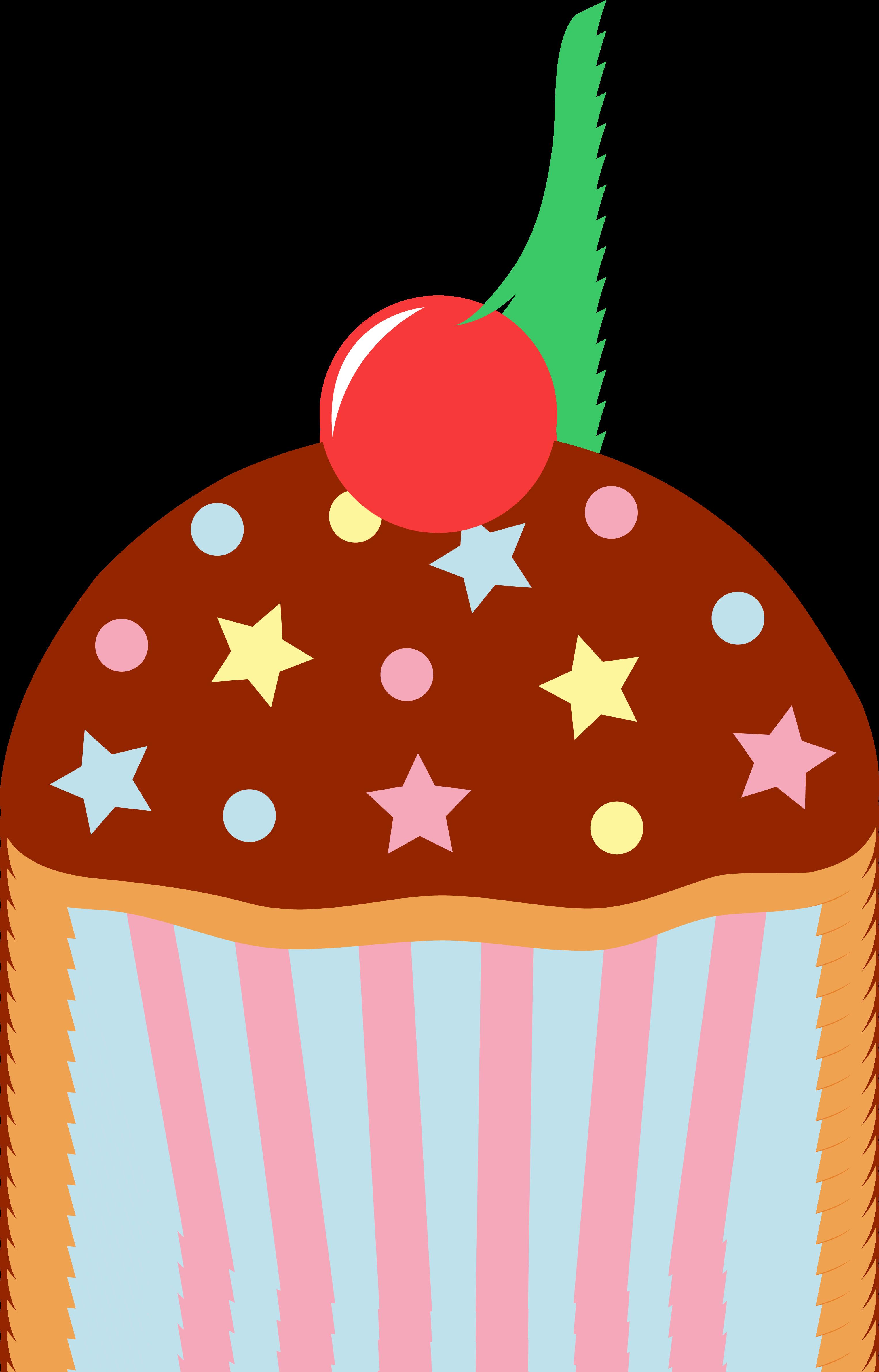 3053x4765 Cupcake Clipart