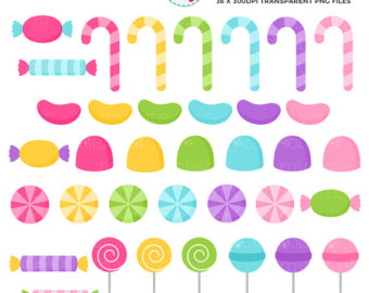 340x270 Pastel Candy Clipart. Scrapbook Printable Candy Dispenser Clip Art