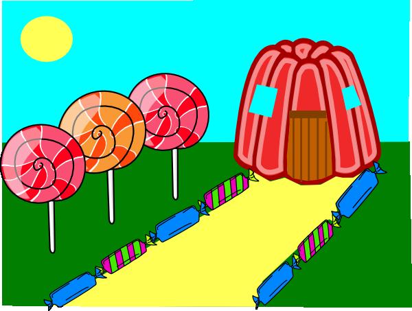 600x453 Candy Land Clip Art