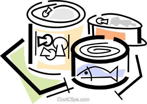 480x338 Canned Goods Royalty Free Vector Clip Art Illustration Vc064719