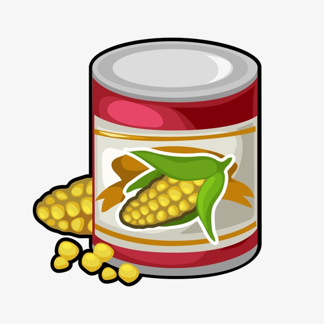 650x650 Canned Corn, Corn, Can, Baogu Png Image And Clipart For Free Download