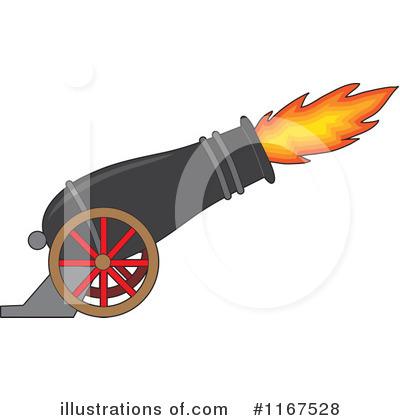400x420 Cannon Firing Clipart
