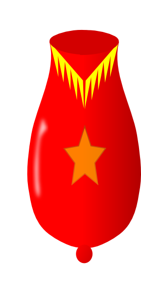 288x591 Red Cartoon Cannon Clip Art