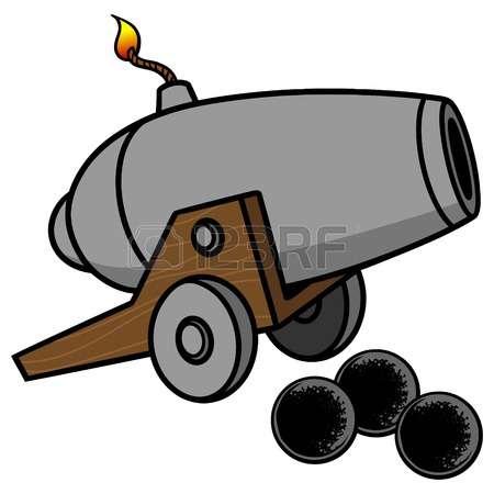 450x450 Cannon Clipart