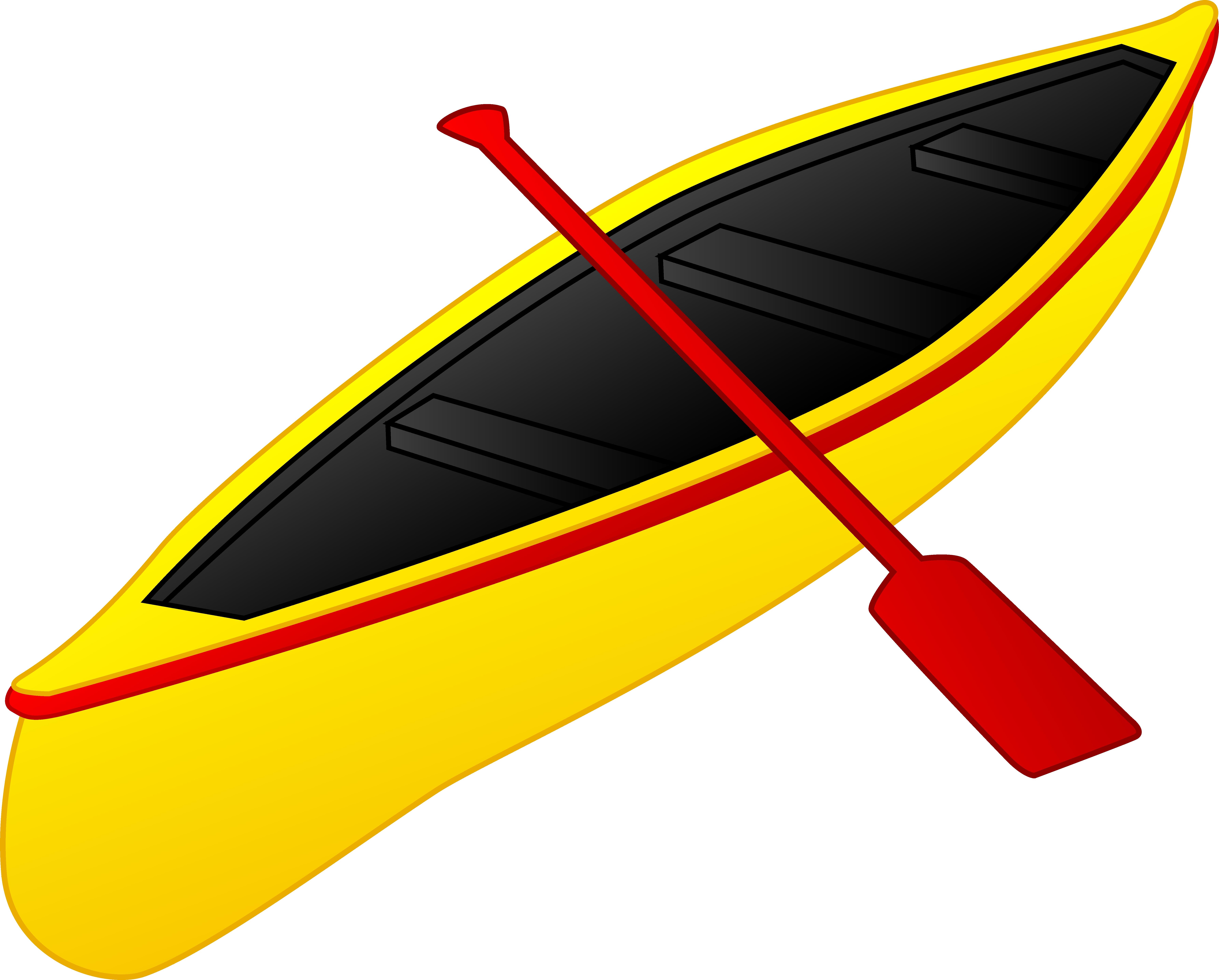 7144x5744 Unique Canoe Clipart Design