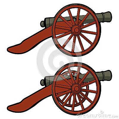 400x400 Bronze Cannon Clipart