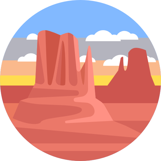 512x512 Scenery, Canyon, Nature, Landscape Icon