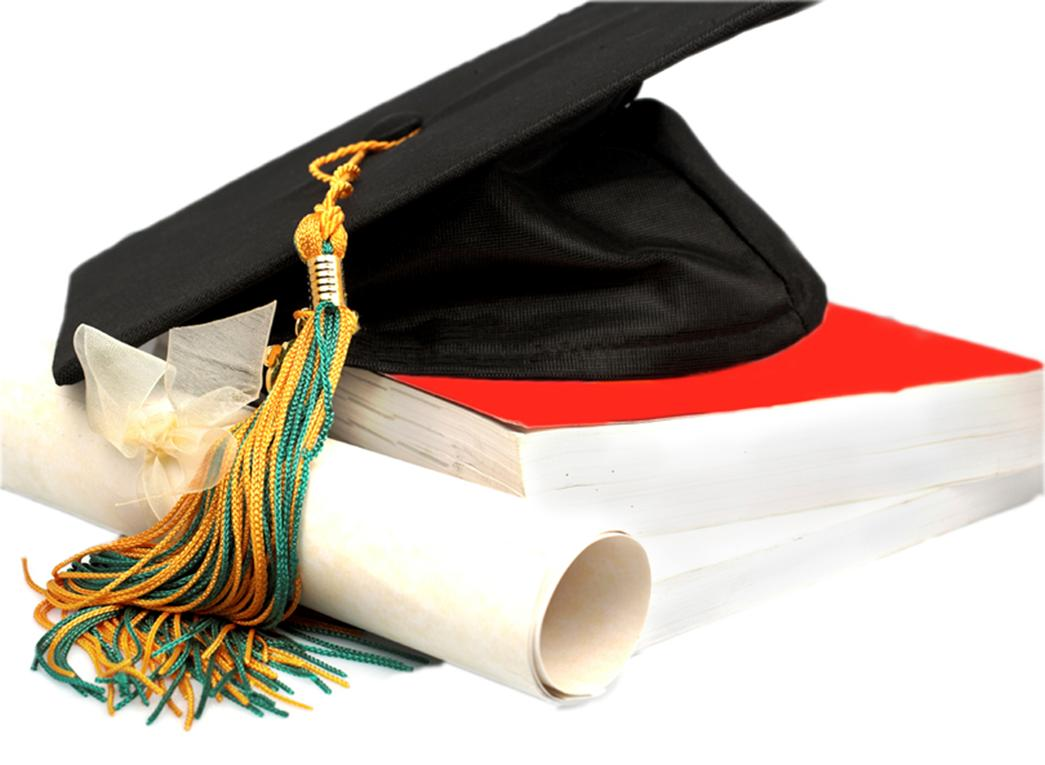 1045x765 Cap And Gown Clipart