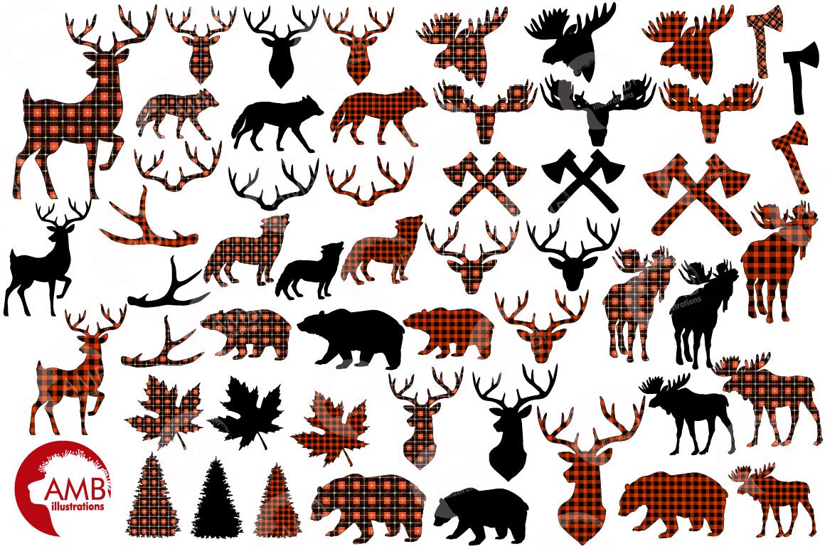 1160x772 Lumberjack Elements Cliparts, Graphics, Illustrations Amb 2315 By