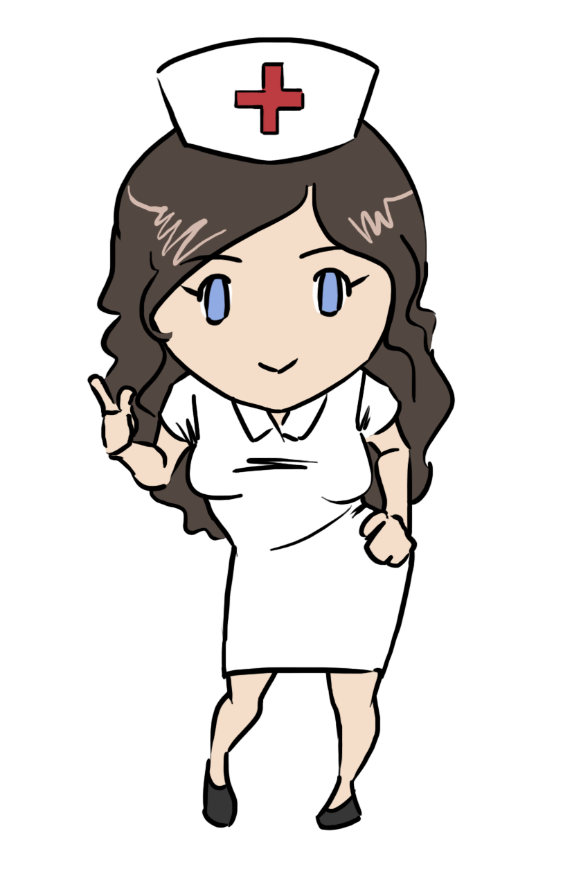813x1274 This Gorgeous Nurse Clip Art Done In Cute Chibi Style Is Free