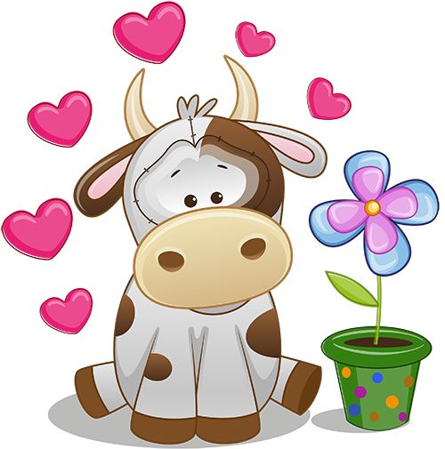 500x505 38 Best Vacas Images On Cow, Farm Animals And Painting