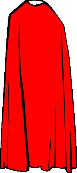 264x591 Red Cape Clip Art