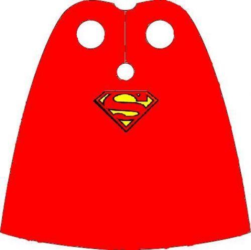 500x498 Superman Cape Clipart Super Man Cape A Lego Creation Darkheed