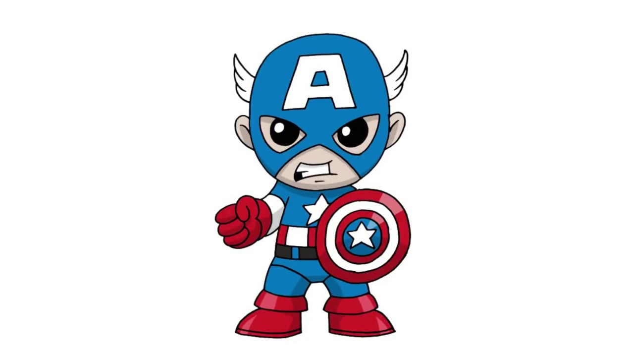 1280x720 Exquisite Captain America Cartoon 26 Png Clip Art Image Png M