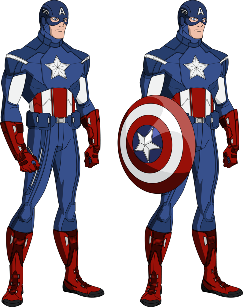 795x1005 Exquisite Captain America Cartoon 26 Png Clip Art Image Png M