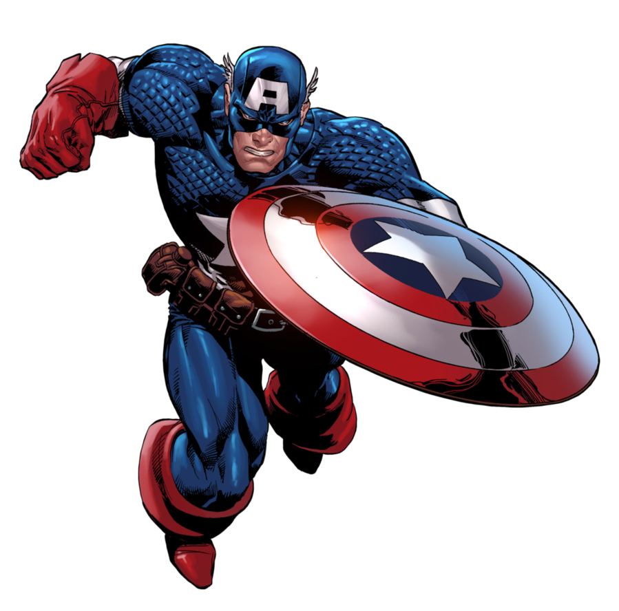 Captain America Logo Clipart