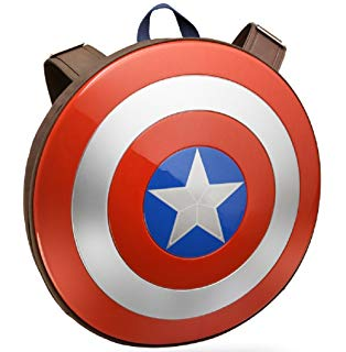 314x320 Marvel Boys Captain America Shield Backpack Amazon.in Toys Amp Games