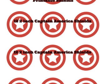 340x270 Captain America Logo Clip Art