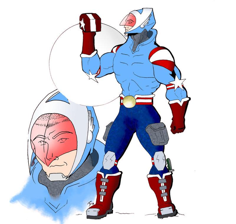 800x758 Captain America Redesign By Klaymen1