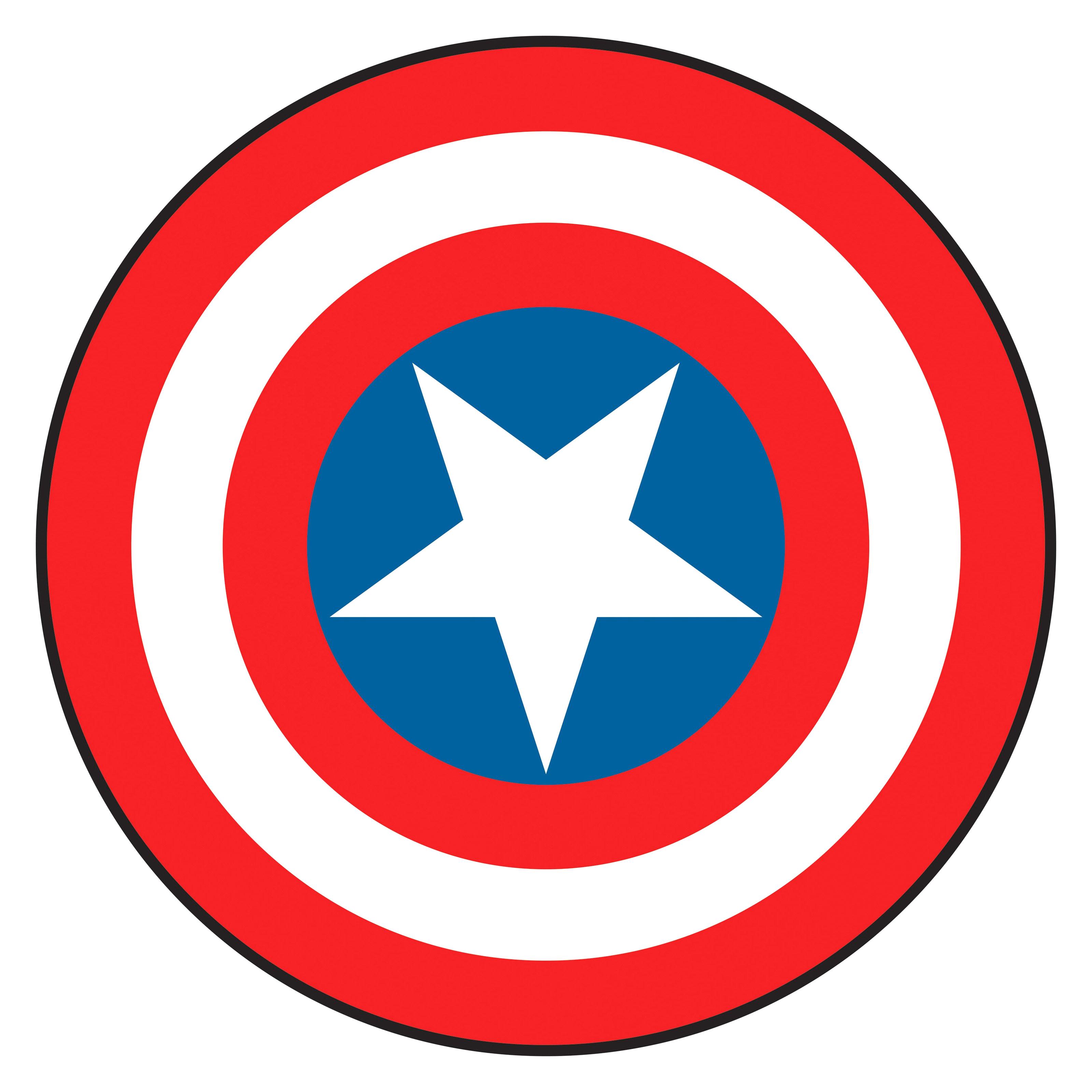 3200x3200 Captain America Shield Printable Jkfloodrelief Org Adorable