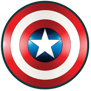 300x300 Captain America Shield Vinyl Decal Sticker Comic Superhero Various