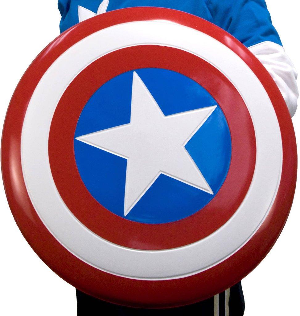 973x1023 24 Inch Plastic Captain America Shield Mountain Store