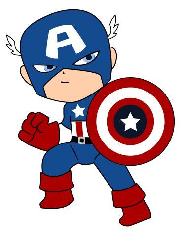 365x475 Captain America Clipart