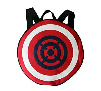 425x382 Ceela Sports Captain America Shield Round Male Female School