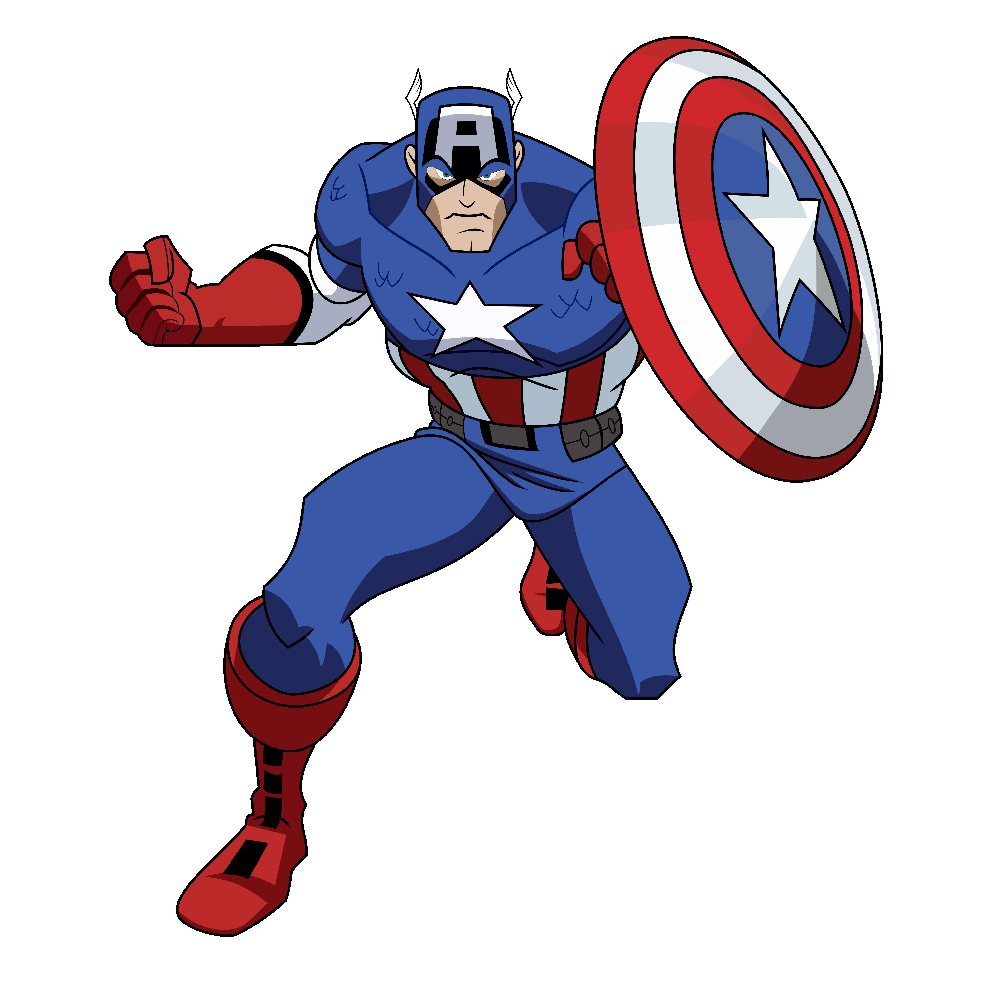 4000x4000 Clip Art Captain America Clip Art