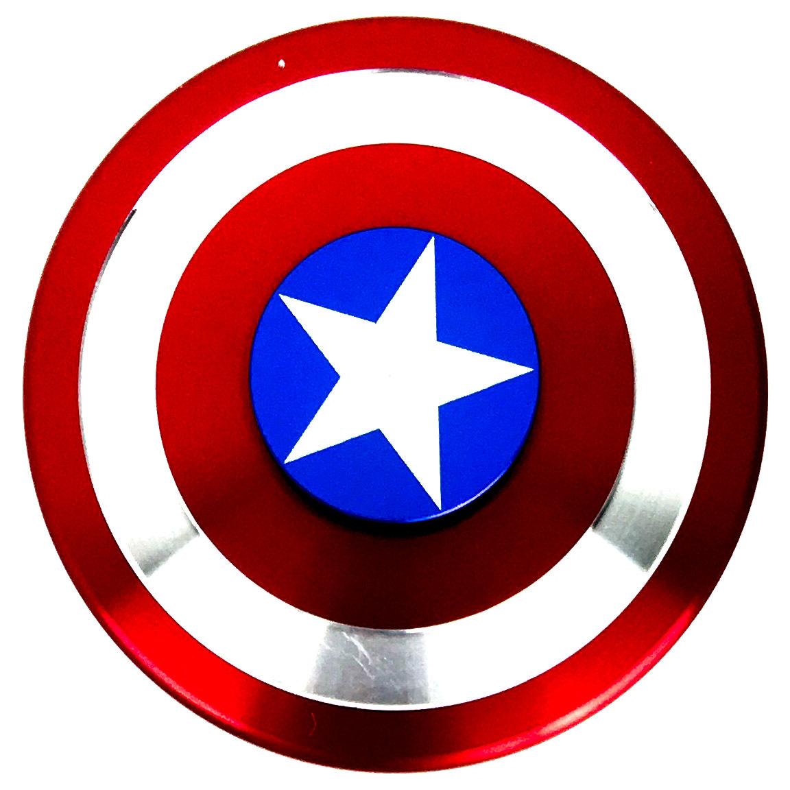 1152x1152 Fidget Spinner Captain America's Shield