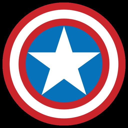 512x512 Filecaptain America Shield.svg Svg And Cricut Stuff