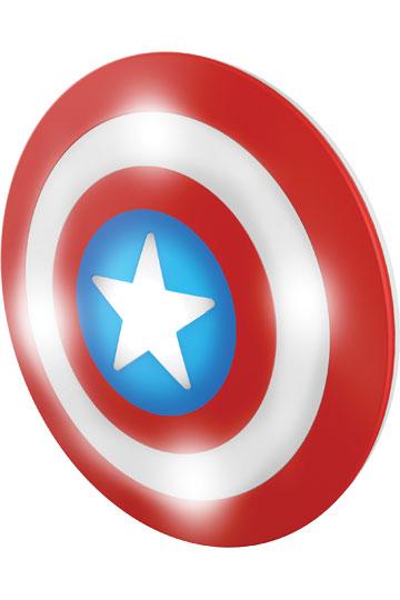 360x540 Marvel Comics 3d Led Light Captain America Shield New Design